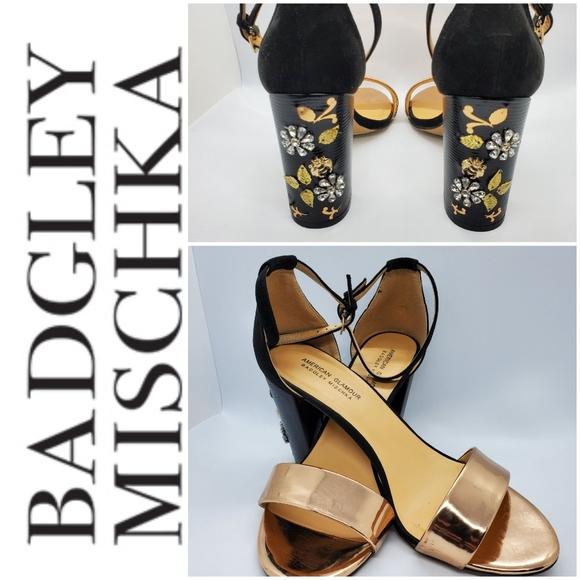 Badgley Mischka Jeweled Shoes